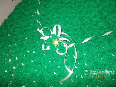 Детский плед крючком. Работа Светланы Сундуковой вязание и схемы вязания