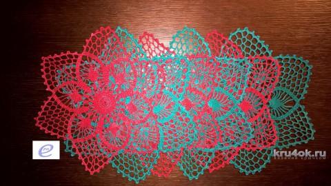 Салфетки крючком. Работы Веры Коваль вязание и схемы вязания