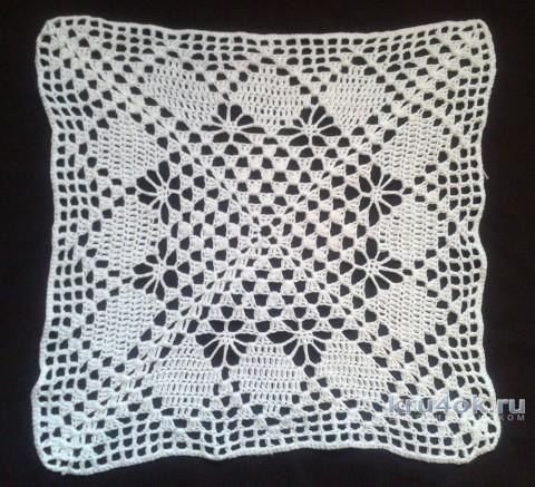 Вязаные салфетки. Работа Галины Коржуновой вязание и схемы вязания