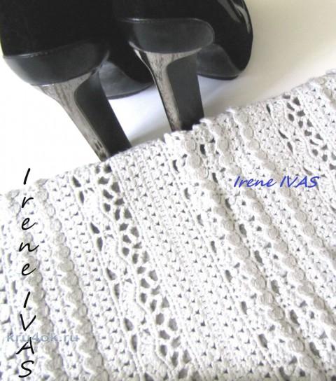 Юбка длинная крючком по мотивам юбки Пагода. Работа Irene IVAS вязание и схемы вязания