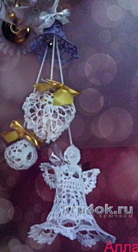 Ангелы крючком. Работы Аллы вязание и схемы вязания