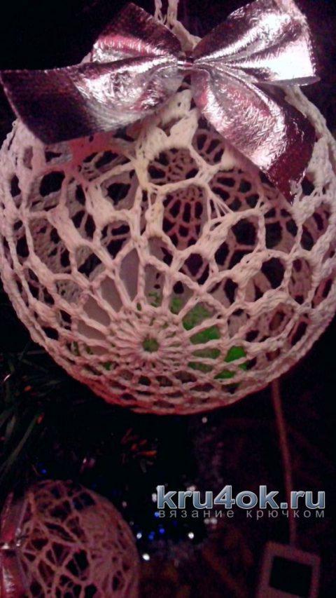 Елочные игрушки крючком. Работы Аллы вязание и схемы вязания