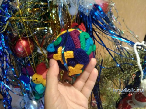 Игрушка Петушок крючком. Работа Елены Аистовой вязание и схемы вязания