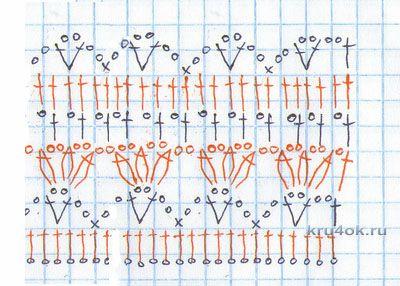 Женский кардиган крючком. Работа Марии Дайнеко вязание и схемы вязания