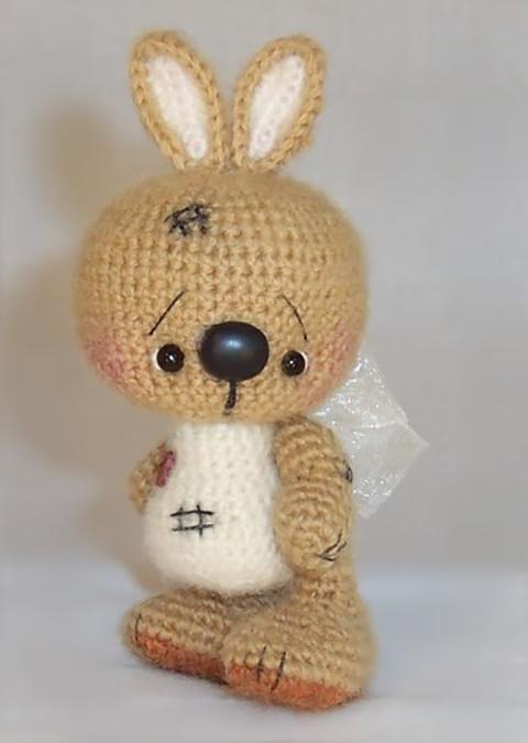 заяц крючком подборка из 35 моделей вязаных зайцев со схемами