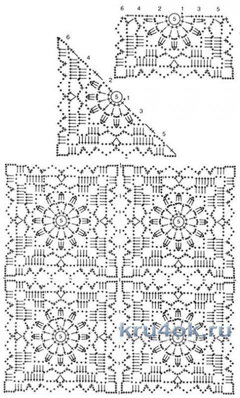 Удлиненная безрукавка от мастерицы Эльвиры Вязаловой вязание и схемы вязания