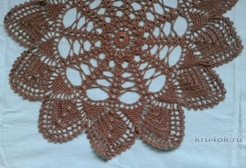 Вязаные салфеточки. Работы Галины Коржуновой вязание и схемы вязания