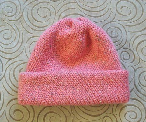 Женская шапочка крючком для начинающих