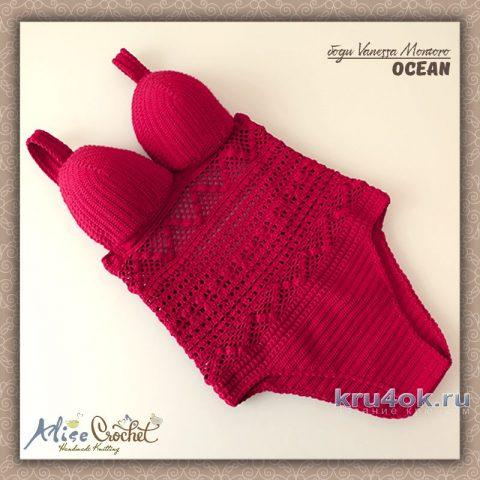Боди OCEAN Vanessa Montoro. Работа Alise Crochet