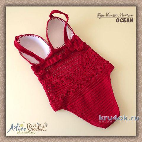 Боди OCEAN Vanessa Montoro. Работа Alise Crochet вязание и схемы вязания