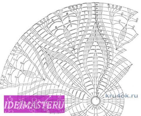Круглые салфетки крючком. Работы Елены Шевчук вязание и схемы вязания