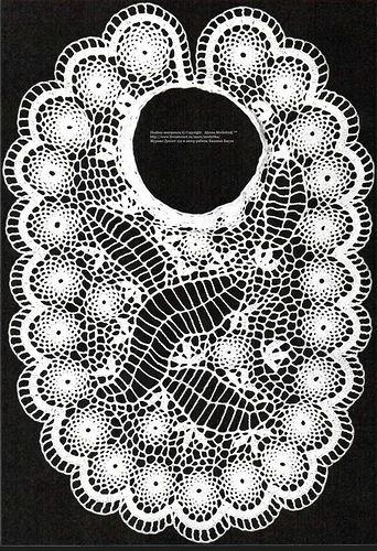 схема ажурного топа из журнала Дуплет
