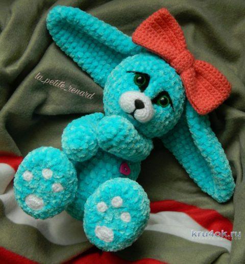 Плюшевая Фенечка, игрушка крючком от Александры Лисициной