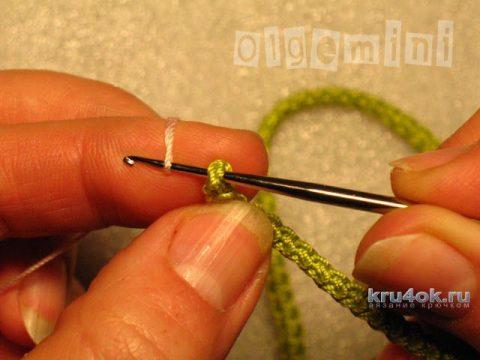 Жакет Марго связан в технике ирландского кружева вязание и схемы вязания