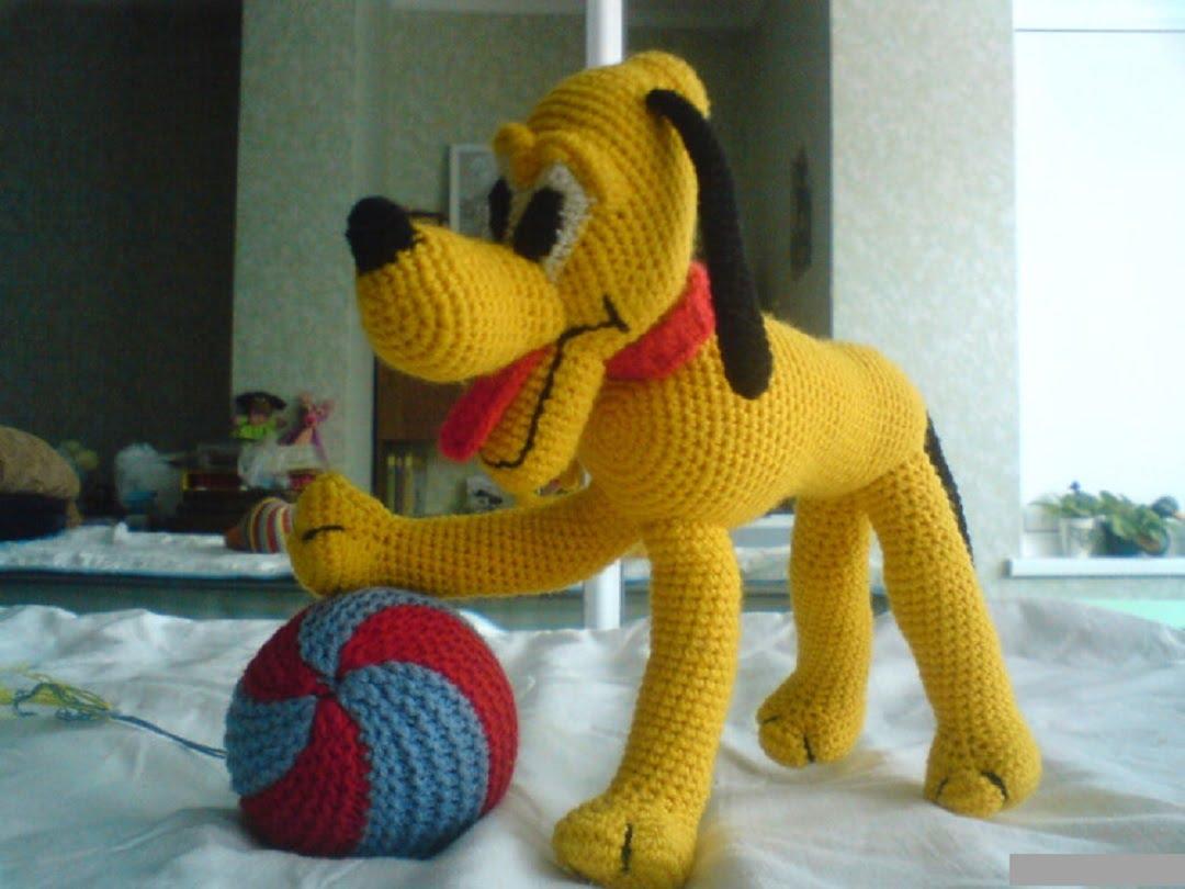 собака крючком 27 авторских описаний по вязанию собачек со схемами