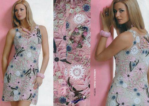 Летнее платье из журнала Мод