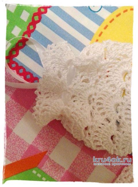 Детская ажурная кофточка крючком. Работа Марины Гололобовой вязание и схемы вязания