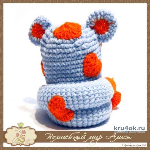 Кот Амурчик крючком. Работа Alise Crochet вязание и схемы вязания