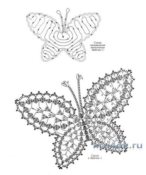 Вязаный крючком топ Листья. Работа Alise Crochet вязание и схемы вязания