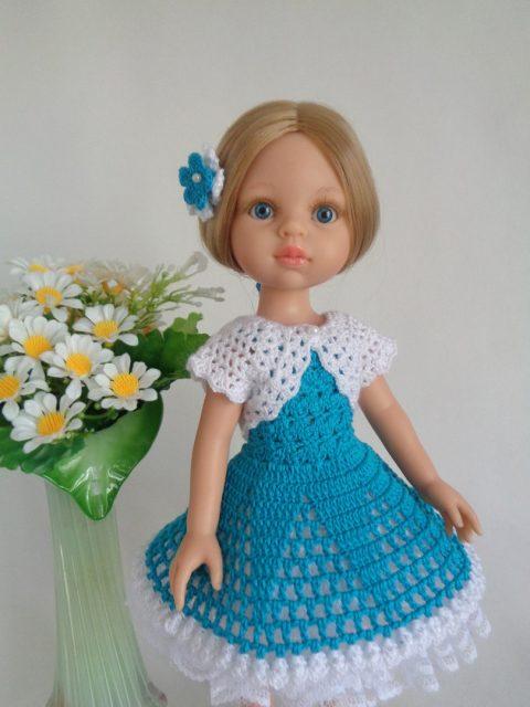Сарафан и болеро для куклы Паола Рейна