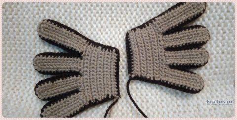 Сова из м/ф Винни Пух крючком. Работа Ксении вязание и схемы вязания