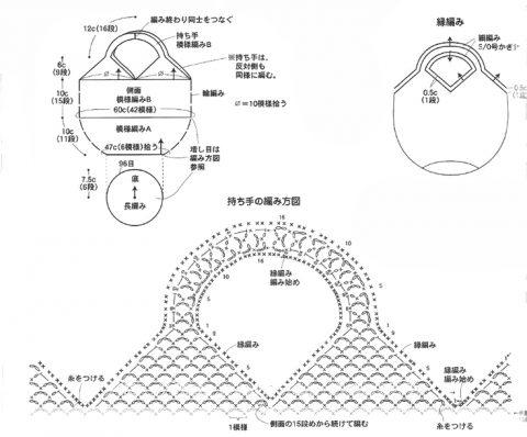 5 моделей вязаных авосек со схемами