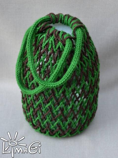 Мастер - класс по вязанию авоськи крючком от МариныLimaGi