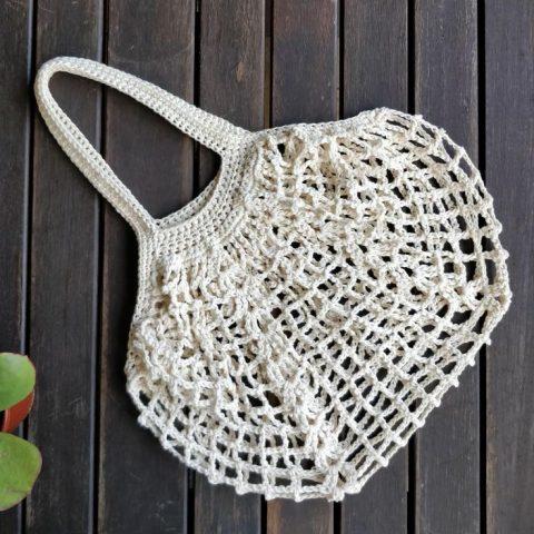 Идеи для вязания авоськи крючком, без схем