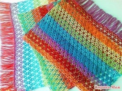 Интересные сеточки для вязания авоськи крючком