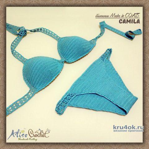 Купальник/бикини Make it COATS Camila. Работа Alise Crochet