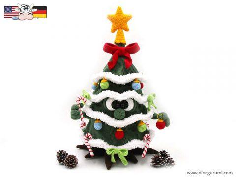 Рождественская ёлка крючком