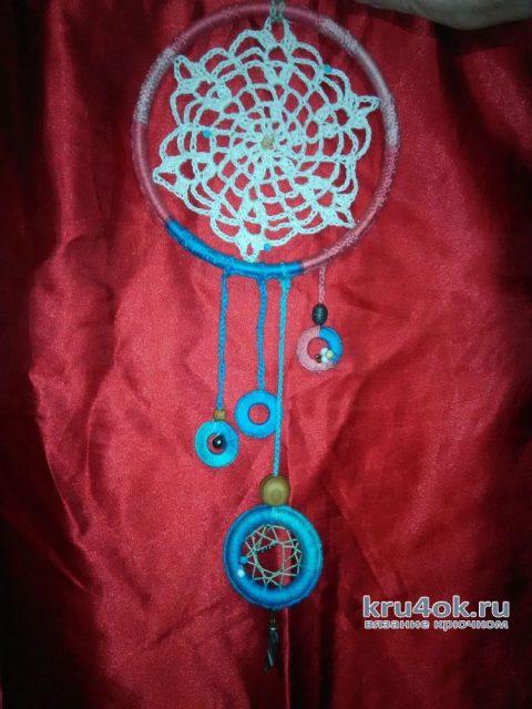 Как связать крючком ловец снов. Работа Натали Крафт вязание и схемы вязания