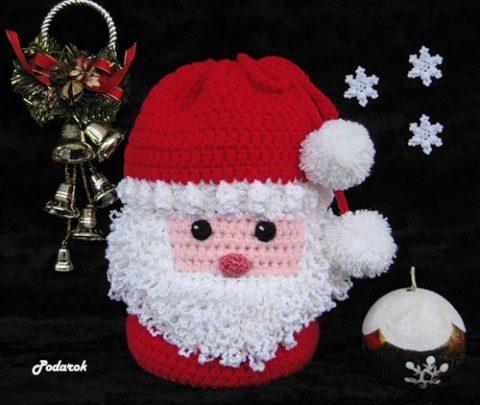 Мешок для подарков Дедушка Мороз