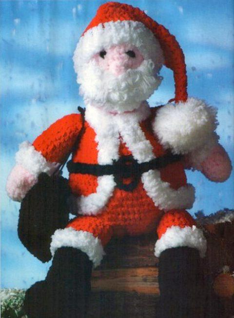 Дед Мороз - Санта Клаус крючком