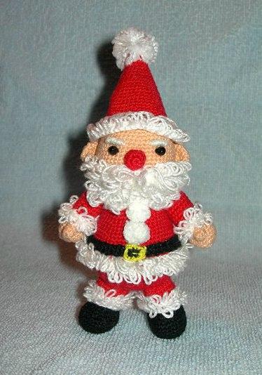 Санта Клаус крючком