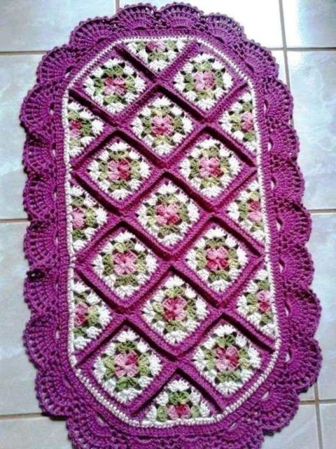 Схемы ковриков для дома