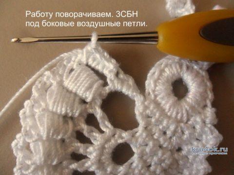 Ажурная бабочка. Мастер - класс от Светланы Шевченко Sova Fotina вязание и схемы вязания