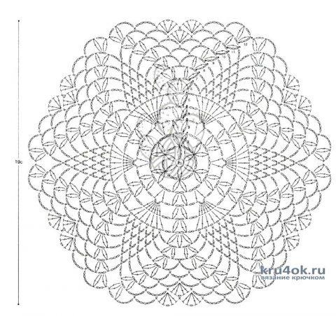 Ажурная кофточка Звездный шепот. Работа Натали Крафт вязание и схемы вязания