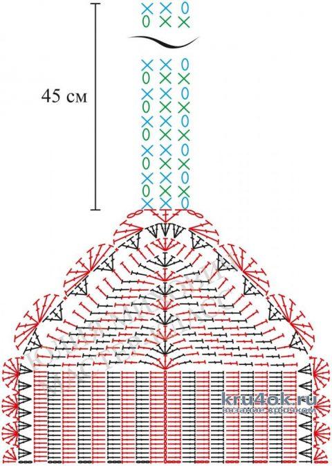 Бикини P&B крючком. Работа Alise Crochet вязание и схемы вязания