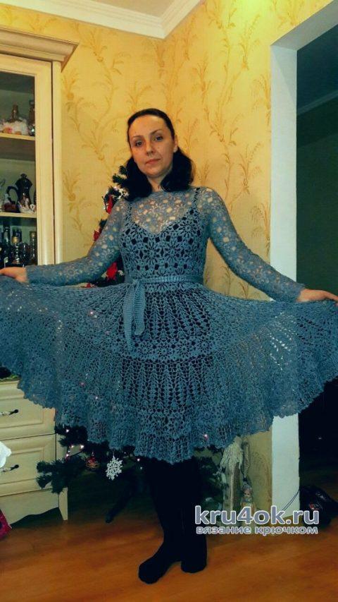 Платье Утренний туман. Работа Евгении Руденко