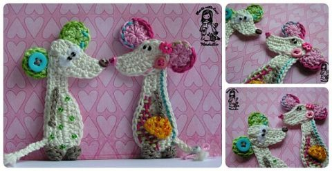 Mouse - crocheted