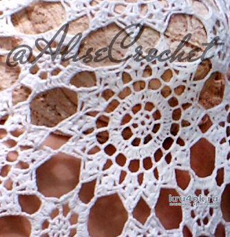 Ажурный топ Лето. Работа Alise Crochet вязание и схемы вязания