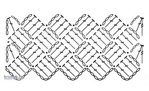 Рюкзак в технике энтерлак крючком. Работа AlenaVerkhovod вязание и схемы вязания