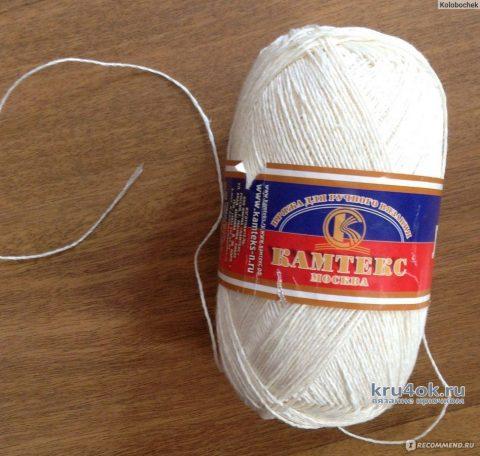 Большая салфетка крючком. Работа Натали Крафт вязание и схемы вязания