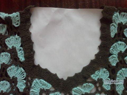 Женское платье крючком. Работа Ирины Георгиевны вязание и схемы вязания