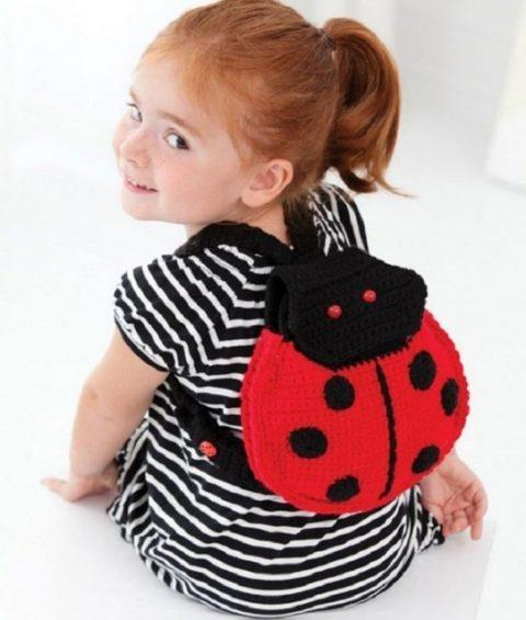 Рюкзак для девочки «Божья Коровка»