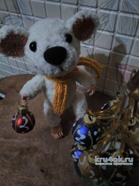 Мышонок Тим и его друг Кеша. Работы Веры вязание и схемы вязания