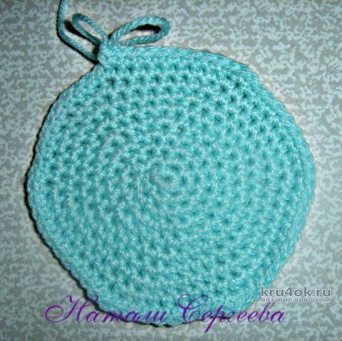 Шляпка для куколки крючком. Работа Натали. вязание и схемы вязания