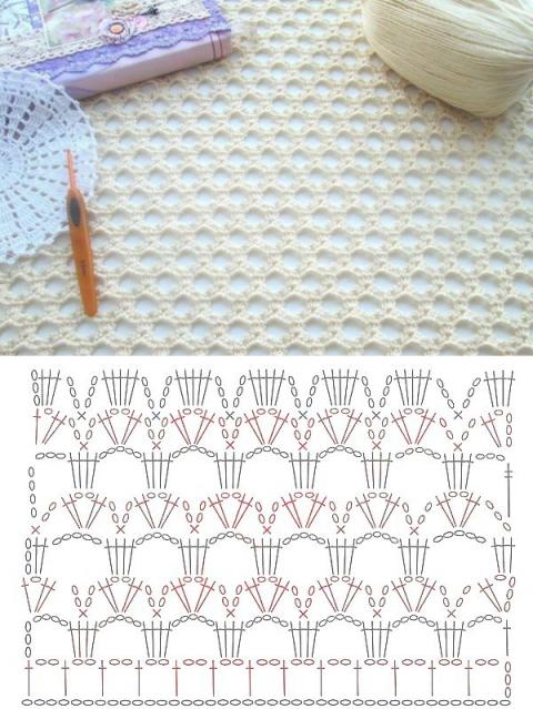 Схемы вязания летней кофточки