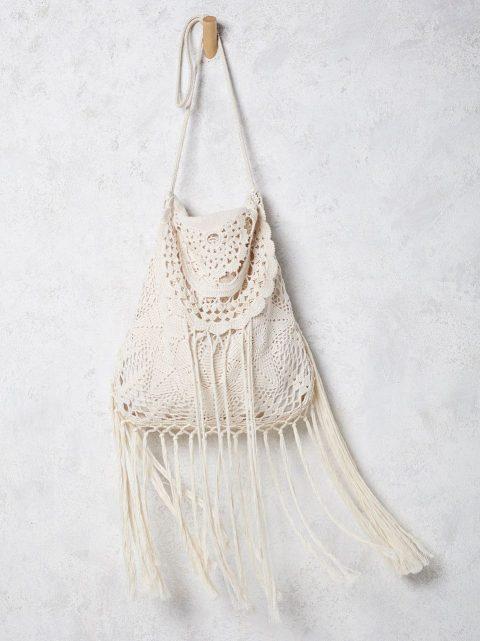 Схемы вязания летней сумки крючком